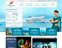 Srilankan airlines espa a website on behance - Srilankan airlines ticket office contact number ...