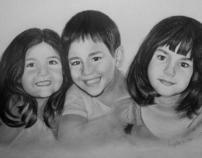 Graphite Portraits III