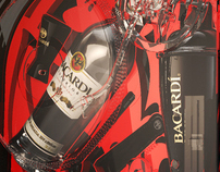Bacardi promo pack concept