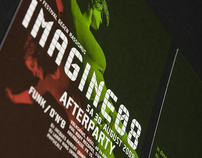 Imagine Festivals 2007 - 2009 Corporate Identity