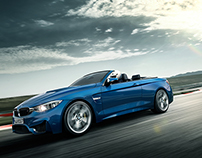 BMW M4 Motorsport CGI Campaign 2015 - Shot 3