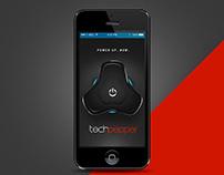 Flipkart TechPepper Mobile App UI prototype