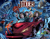 Album Cover Illustration for the UK Band The Jokers