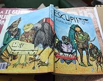 Ilustração | Livro Escupitojos