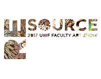 Re Source UWF Faculty Art Exhibition/ Graphic Design