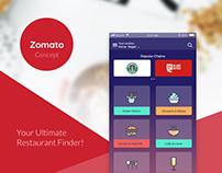 Zomato - Concept