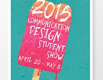 2015 Communication Design Student Show