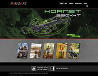 Hori-zone website