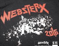 WebsterX Tour Tee's