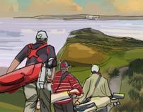 Irish Tourist Board/ Golf Ireland campaign