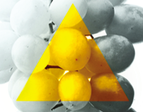 Ambernuit- Imaginative label design for wine