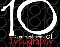 10 Commandments of Typography