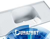 Durafort - 3D Products - Sinks