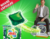Ariel Excel Tabs mini website