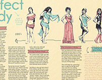 Perfect body: an article, illustration & layout design