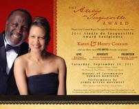 Alexis de Tocqueville 2011 Award Gala invitation