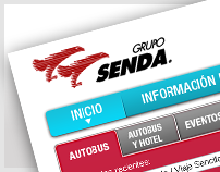 Web Portal, iPhone App & Web Mobile » Grupo Senda