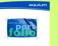 Aquium Website design