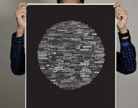 Futura Font Poster