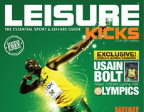 Leisure Kicks Magazine Cover 2011