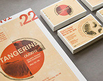 Tangerine: 2012 BFA Graphic Design Exhibition