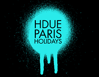 Paris Holidays Booklet