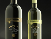 Wine Durdovansky – label and logo design