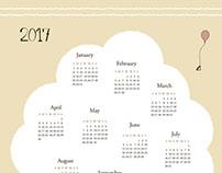 Tea Time - 2017 calendar
