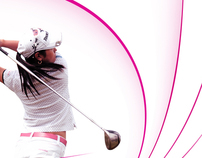 Affiche Evian Masters 2012 - Créative