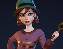 Lady Detective (Game Model)