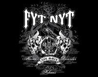 T-shirt Designs for Fyt Nyt Clothing Company