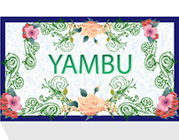 Yambu's Resturants. Branding title. Graphics Design.