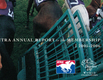 NTRA/Breeders' Cup Annual Report Cover - 2006