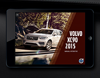 Manual guide app for Volvo XC90