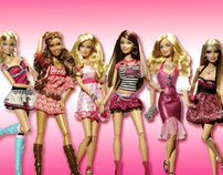 Barbie Fashionistas / product launch stunt