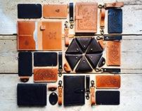 Megamunden X Raw & Auburn leather products