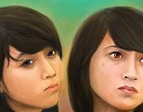 People Digital Painting