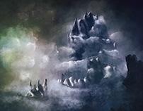 Lichtspiel, digital painting