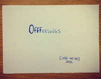 OFFFeelings 2012 Book [here it becomes personal]