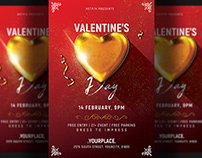 Valentines Day Invitation Flyer