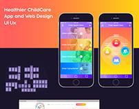 Healthier ChildCare | Ui\Uxdesign & App | Health