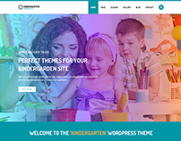 Kindergarten - WordPress Theme for Children School