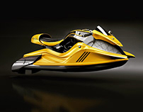"""""""ORCA"""" Customized Bmw R9T Jetski"""