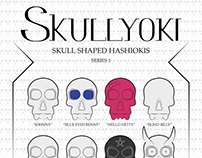 Skullyoki - Skull shaped Hashiokis