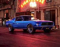 Mustang GT Night Street