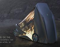 Citroen Camping Van. 3rd term project. HS Pforzheim