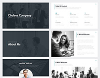 Chelsea Company Google Slides Template