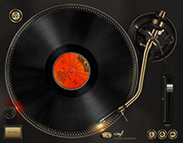 Vinyl - Virtual Drive Turntable System