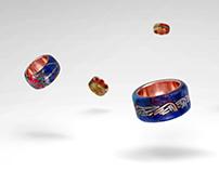 Handmade Recycled Rings