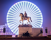 Lyon Festival of Lights - Fête des Lumières 2016- Yanis